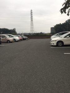 ラーメン蛍の駐車場