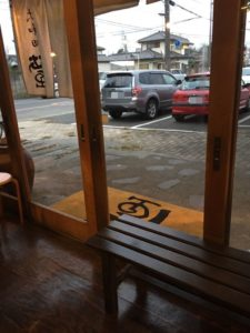 ラーメン蛍の駐車場2