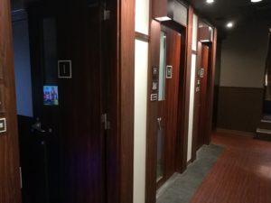 快活クラブ千葉北店のワンツーカラオケの部屋