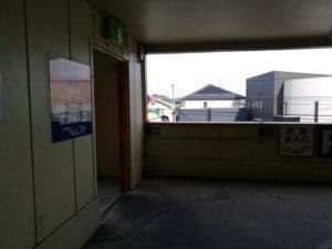 お店への入り口