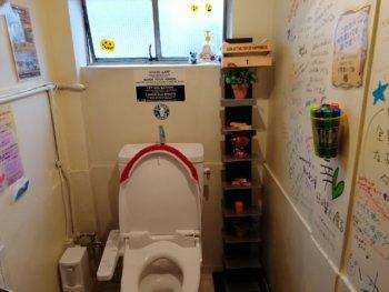 サムライズコワーキングのトイレ