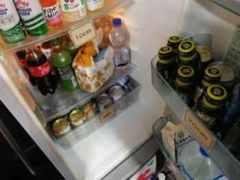 サムライズコワーキングの冷蔵庫