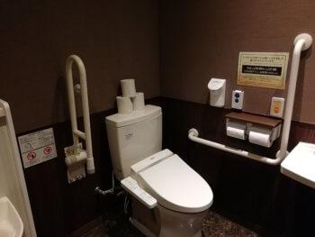 快活クラブ幸手店の多目的トイレ