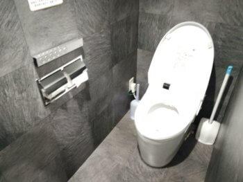 ワンカラの洋式トイレ