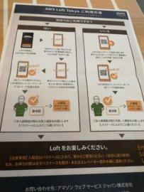 AWS Loft appの登録方法